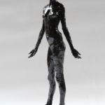 Adriano Ciarla - Nue - terre émaillée - 50 x 19 x 16 cm - 1200 €