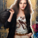 Kai McCall - Shift Out - huile sur toile - 137 x 122 cm - 3800 €