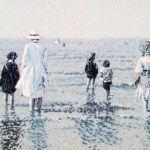 Luc Lavenseau - Biarritz rétro II - huile sur toile - 80 x 120 cm - 4100 €