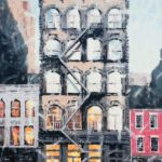 Luc Lavenseau - New York - huile sur toile - 100 x 81 cm - 3900 €