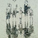 Luc Lavenseau - Les enfants à la plage - huile sur toile - 92 x 65 cm - 2500 €