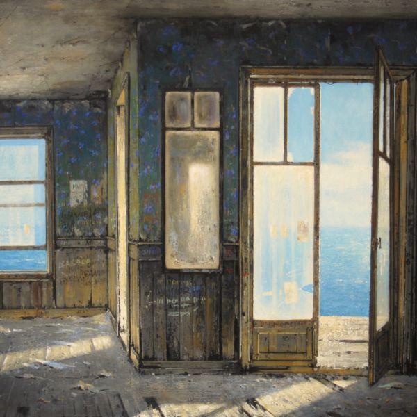 Christian Benoist - Plaisance - huile sur toile - 60 x 81 cm - 5000 €