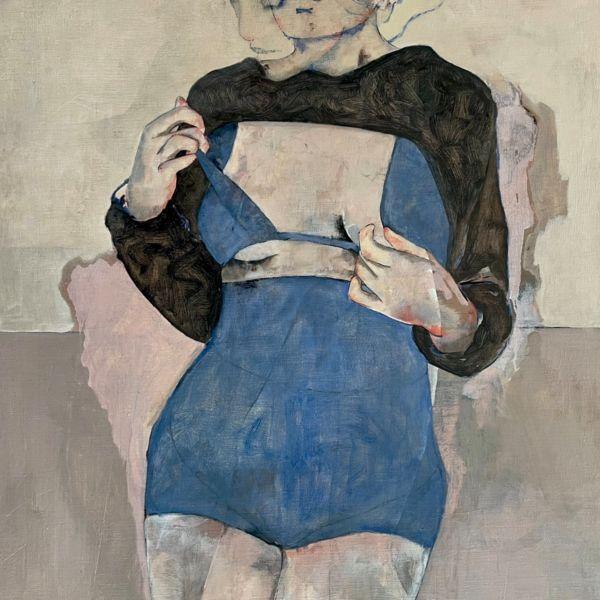 André Lundquist - Lettre en Avril IV - huile sur toile - 100 x 80 cm - 4200 €