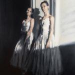 Luc Lavenseau - Danseuses - huile sur toile - 100 x 81 cm - 3900 €