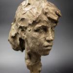 Irina Shark - Portrait androgyne - bronze 1/8 - 20 x 20 x 20 cm - 4000 €