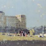 Luc Lavenseau - Biarritz - huile sur toile - 33 x 46 cm - 1500 €