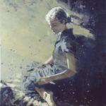 Luc Lavenseau - Belle - huile sur toile - 65 x 54 cm - 2100 €