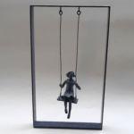 Valentine Laude - Toujours plus haut - bronze 2/8 - 45 x 27 x 12 cm - 2700 €