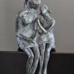 Valentine Laude - Confidence - bronze n°2/8 - 24 x 11 x 12 cm - 2900 €