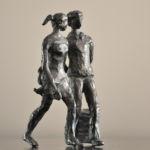 Valentine Laude - Week-end à Rome - bronze n°3/8 - 13 x 10 x 12 cm - 1300 €