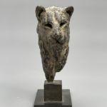 Isabelle Carabantes - Petite tête de lionne - bronze - 17 x 14 x 6 cm - 1100 €
