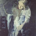 Luc Lavenseau – Clair de lune – huile sur toile – 92 x 65 cm – 2800 €