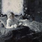 Luc Lavenseau – Les femmes qui lisent sont dangereuses – huile sur toile – 65 x 92 cm – 2800 €