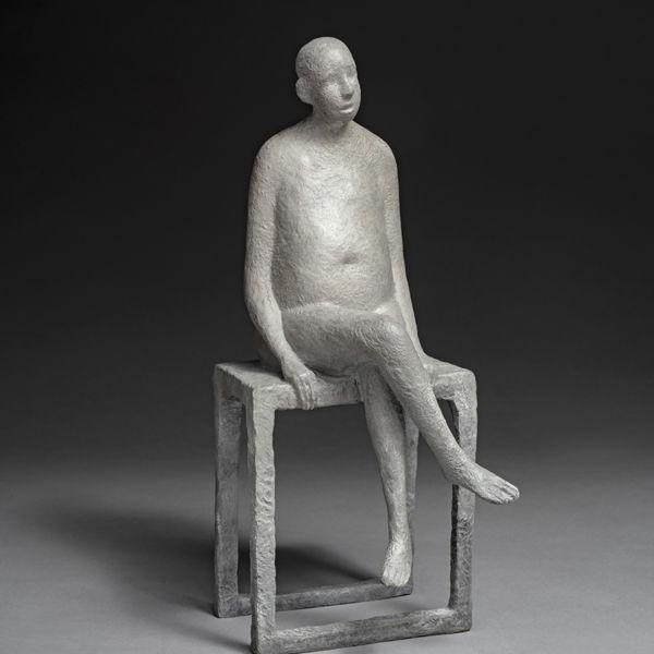 Lucette Brandy - Solus - bronze - 12 x 29 x 15 cm - 2000 €